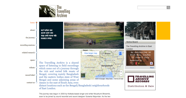 The Travelling Archive
